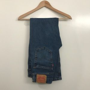 Levi's Dark Blue Wash Denim Jeans